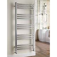Kudox Timeless  Designer Towel Radiator Chrome 1100 x 500mm 911Btu