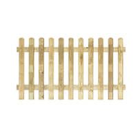 Grange Profiled Fence Panels 1.8 x 1m 3 Pack