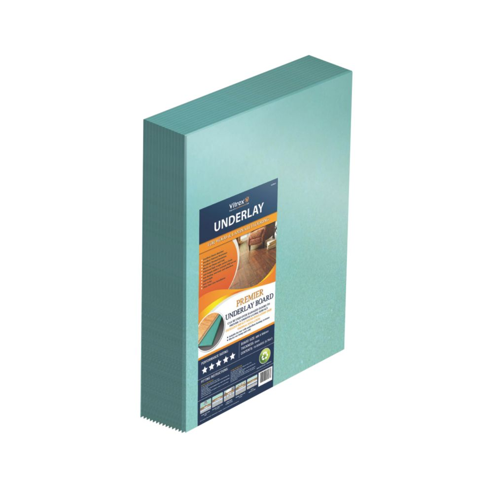 Premier Wood & Laminate Underlay Boards Pack of 19