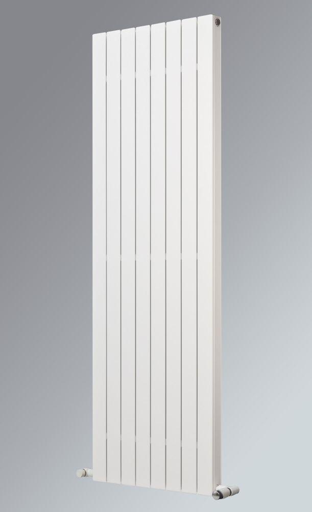 Oceanus Duplex Deluxe Vertical Designer Radiator White 1800 x 445mm 4767BTU
