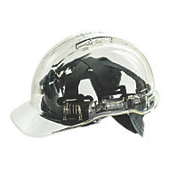 Portwest Peakview Translucent Safety Helmet Clear