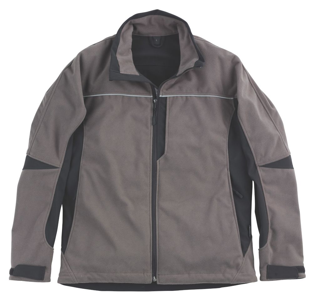"Mascot Salto Fleece Jacket Black / Anthracite Medium 40"""