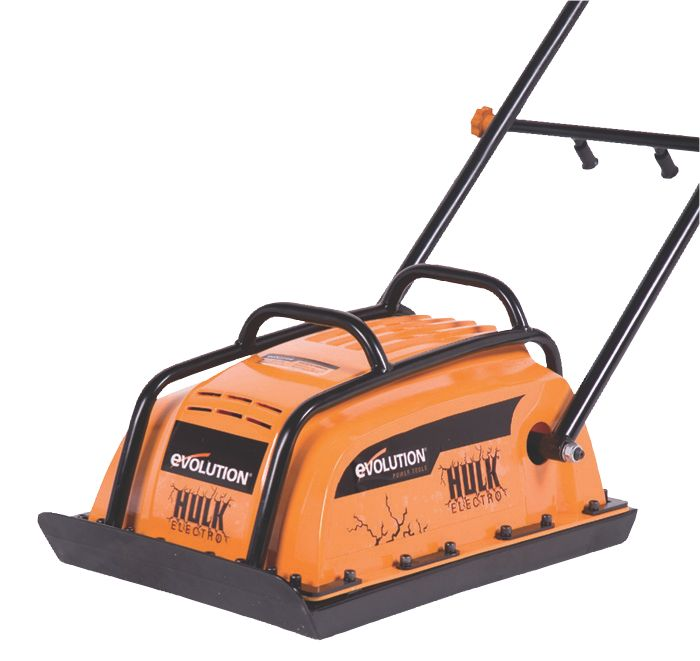Evolution Hulk Electro Compaction Plate 400 x 320mm 240V