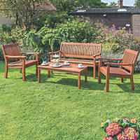 Rowlinson Willington Garden Table & Chairs Set