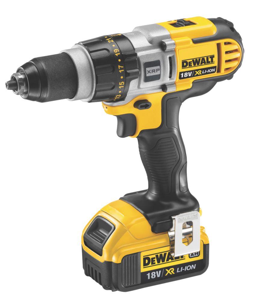DeWalt DCD980M2-GB XRP 18V 4Ah Li-Ion Cordless Drill Driver