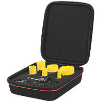 Starrett Electricians Holesaw Set 8 Piece Set