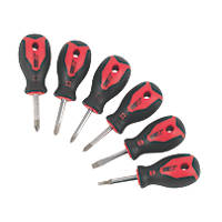 Forge Steel Stubby Screwdriver Set 6 Pieces