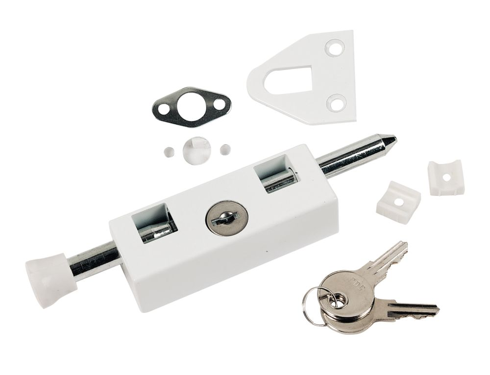 Multipurpose Door Bolt White