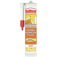 Unibond Flexible Decorating Filler White 310ml