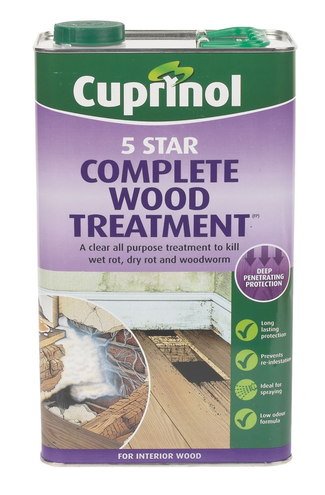Cuprinol 5 Star Wood Treatment 5Ltr
