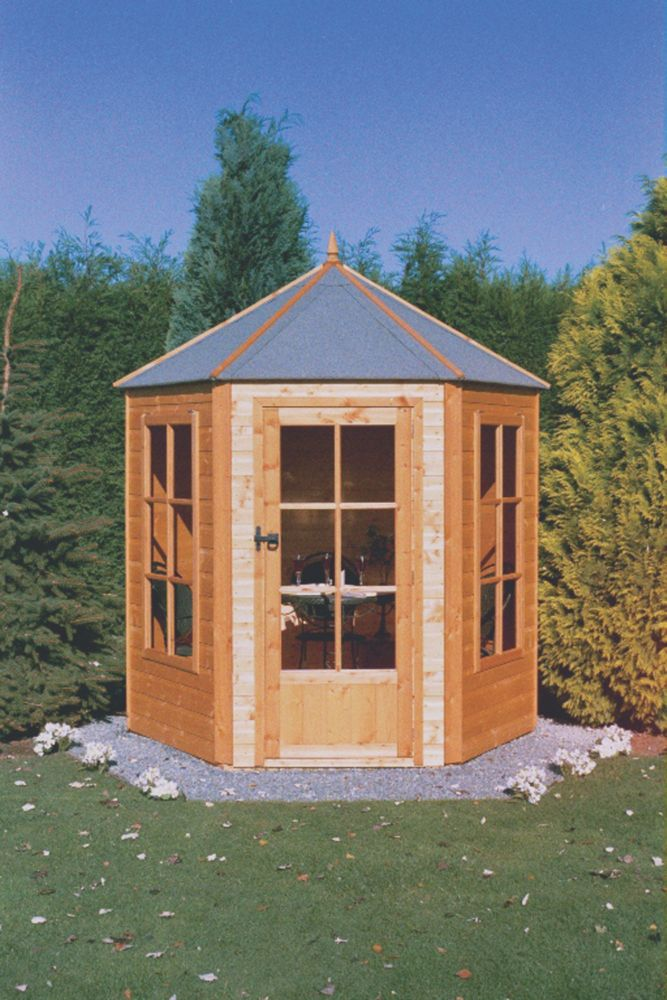 Gazebo Summerhouse 2.1 x 1.8 x 2.4m