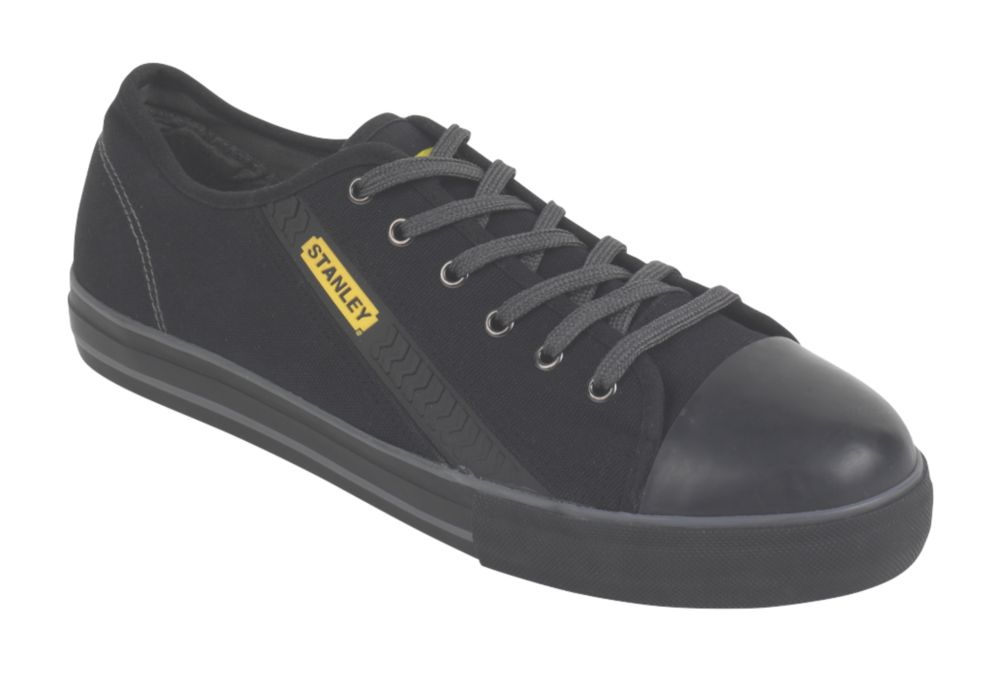 Stanley Vulcanised Skate Safety Shoes Black Size 7