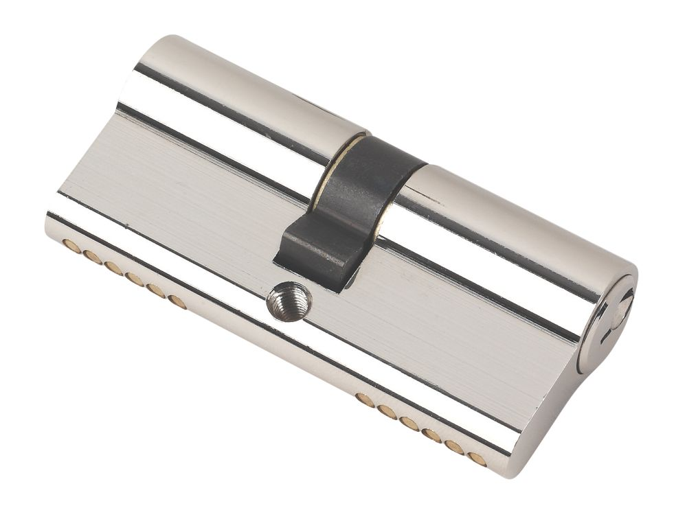 Securefast 6-Pin Keyed Alike Euro Cylinder Lock 35-35 (70mm) Pol. Nkl Pk4