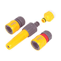 Hozelock Hose Fittings Starter Set 5 Pieces 5 Pcs