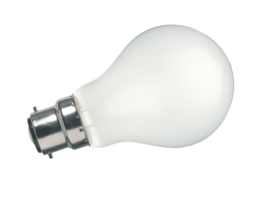 Sylvania Incandescent Rough Service Lamp Pearl BC 560Lm 60W