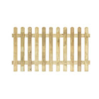 Grange Profiled Fence Panels 1.8 x 1m 4 Pack