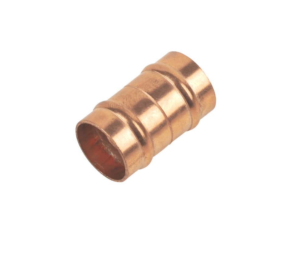 "Solder Ring Imperial / Metric Adaptors 15mm x ½"" Pack of 2"