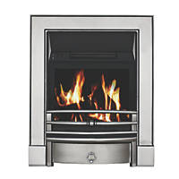 Focal Point Soho Chrome Switch Control Freestanding Electric Fire