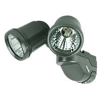 LAP Pro TwinSpot G9 Twin Floodlight Uncontrolled 42W Grey 1900lm