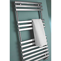 Kudox Calandra  Designer Towel Radiator Chrome 900 x 450mm 816Btu