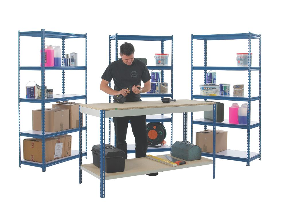 Workshop Workbench & Shelving Starter Kit 3