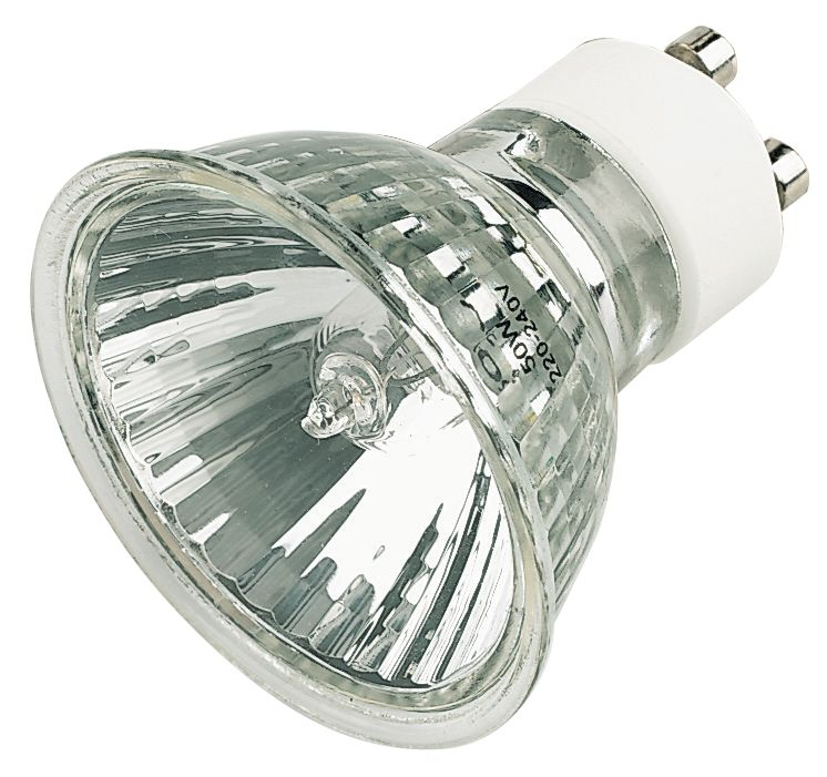 Mains Halogen Lamp GU10 600Cd 50W 240V Pack of 25