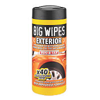 Big Wipes Vehicle Exterior Wipes  40 Pack