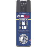 Plasti-Kote Heat-Resistant Paint Black 400ml