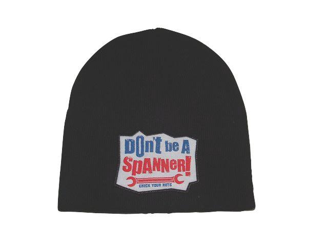 Don?t Be A Spanner / Screwfix Everyman Beanie Hat Black