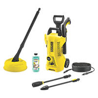 Karcher Full Control K2 Home 110bar Pressure Washer 1.4kW 240V