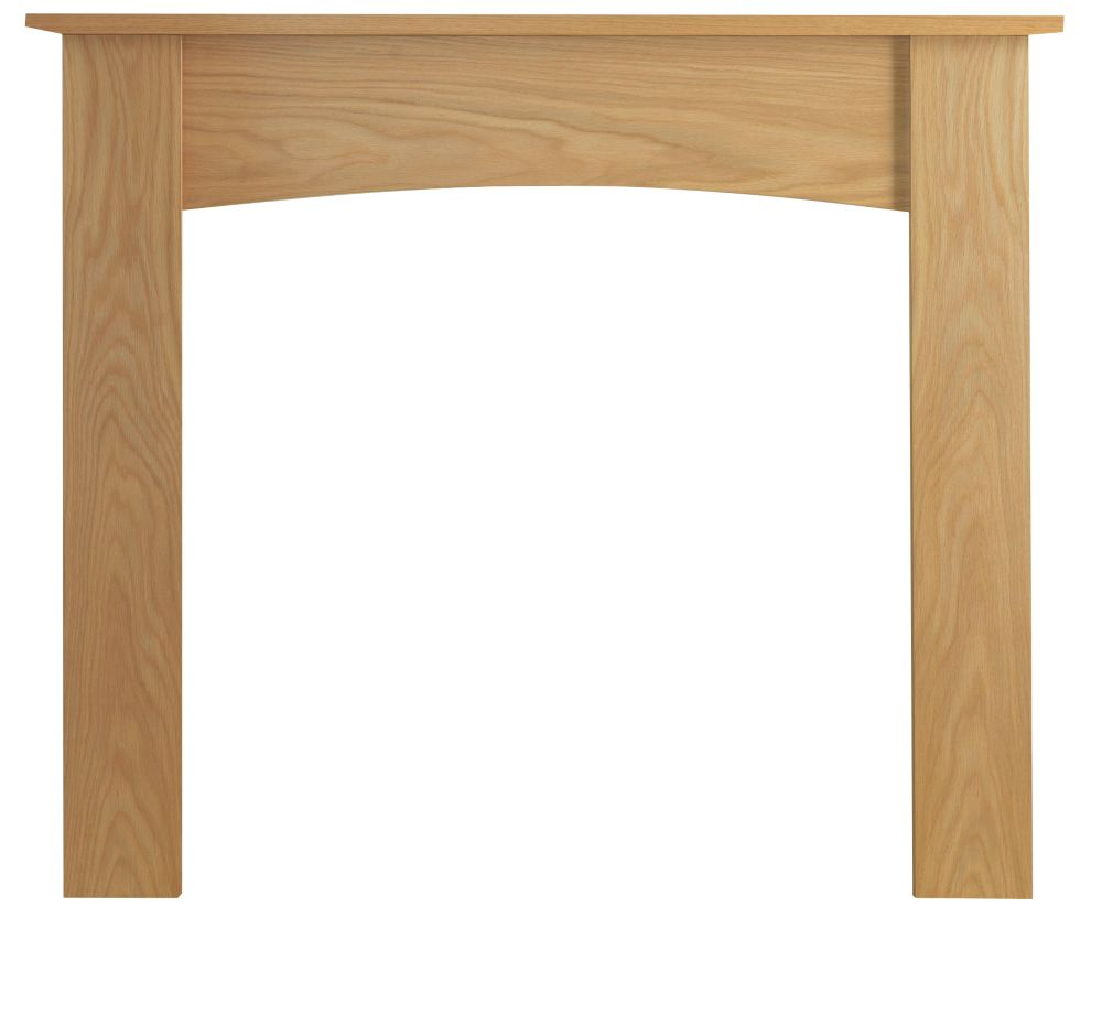Be Modern Darwin Natural OakVeneer Fire Surround