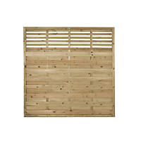 Forest Kyoto Fence Panels 1.8 x 1.8m 3 Pack
