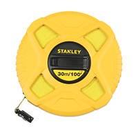Stanley Fibreglass Tape Measure 30m