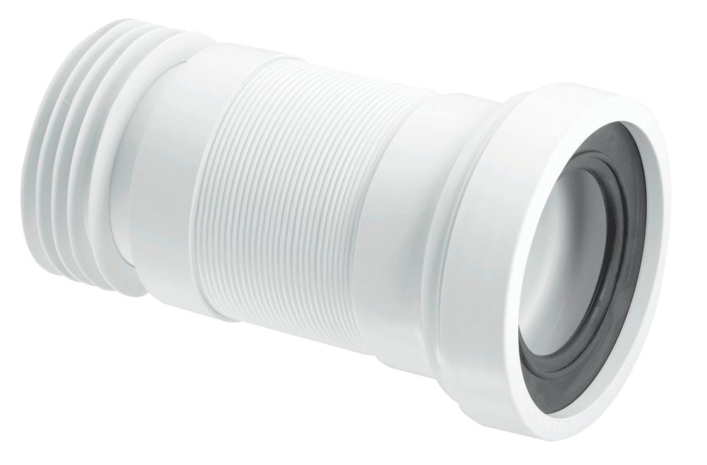 McAlpine Flexible WC Pan Connector 170-410mm