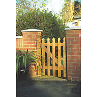 Grange Palisade Tulip Gate 870 x 900mm Pressure-Treated Green