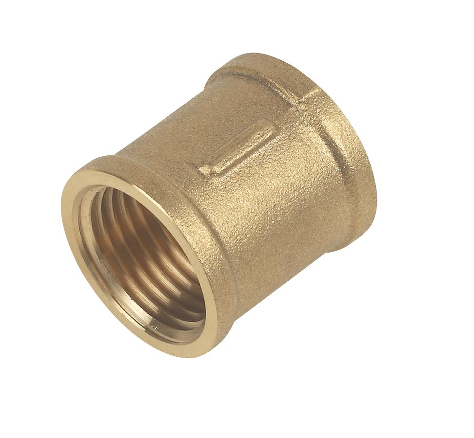 "Brass Socket ½"" F x F"