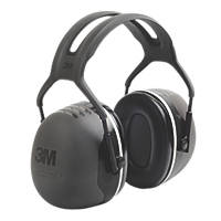 3M Peltor X5 Ear Defenders Black 37dB SNR