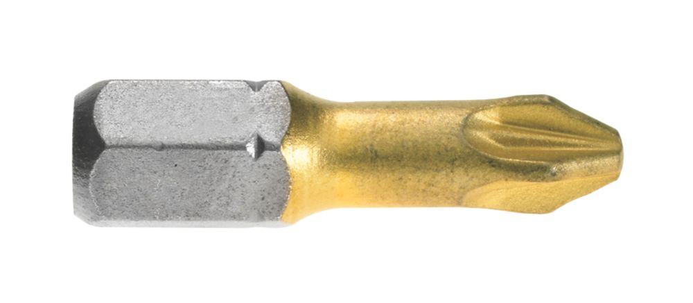 Bosch MAX Grip Screwdriver Bit PZ#2 25mm Pack of 3