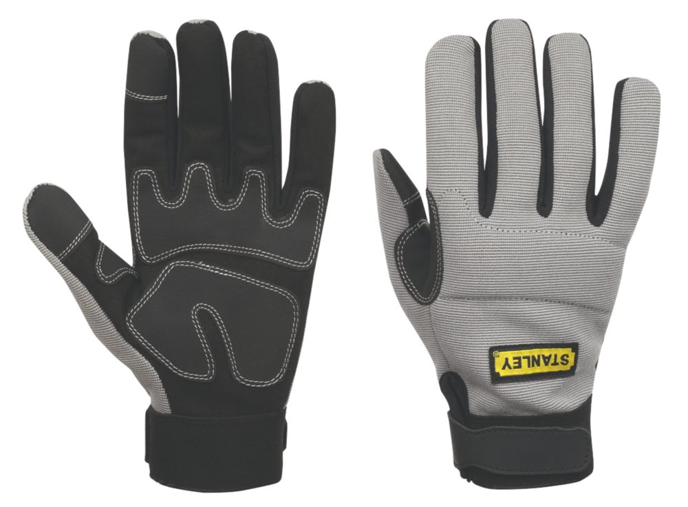 Stanley Performance Specialist Handling Gloves Grey Large