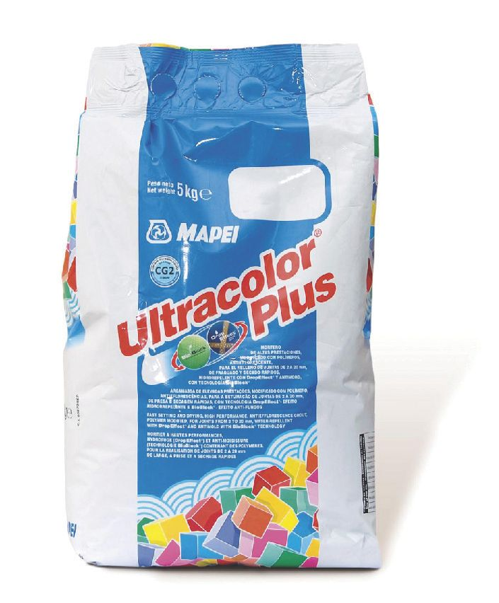 Ultracolor Plus Grout White 5kg