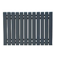 Ximax Erupto Square Horizontal  Designer Radiator Anthracite 600 x 1185mm