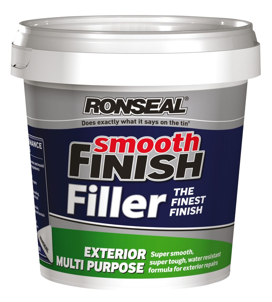 Ronseal Exterior Ready Mixed Wall Filler Grey 1.2kg