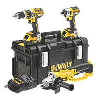 DeWalt DCK382M2-GB 18V 4.0Ah Li-Ion XR Cordless Triple Pack