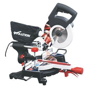 Evolution RAGE 3-S 210mm Sliding Mitre Saw Rally Edition 240V