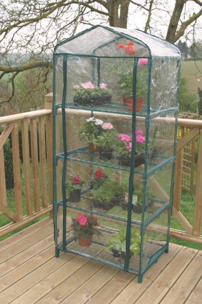 Apollo 4-Tier Mini Greenhouse 690 x 490 x 1600mm