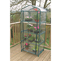 "Apollo  4-Tier Mini Greenhouse 690 x 490 x 1600mm 2' 3"" x 1' 6"""