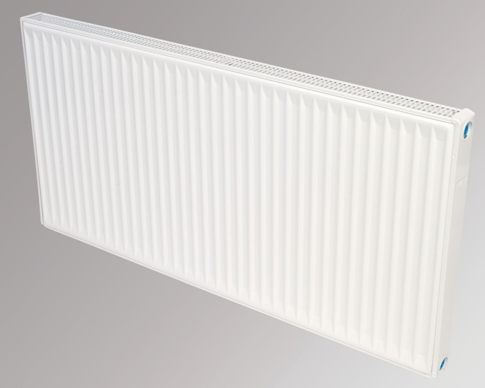 Flomasta Type 21 Double Panel Single Convector Radiator White 600 x 1200mm