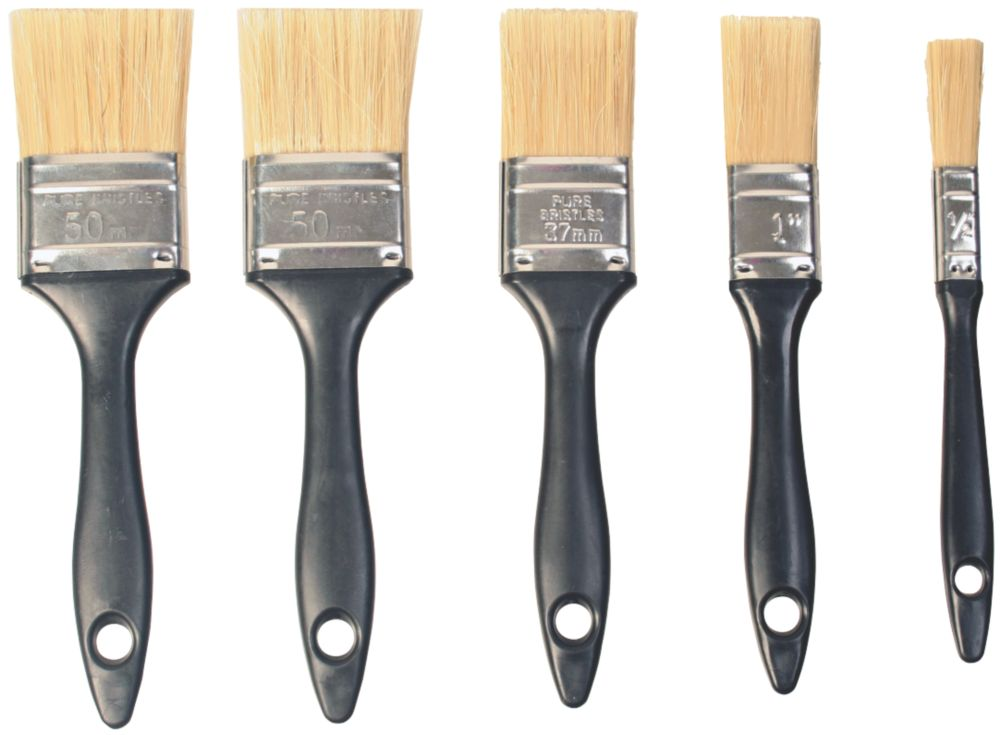 Economy Paintbrushes 5 Piece Set