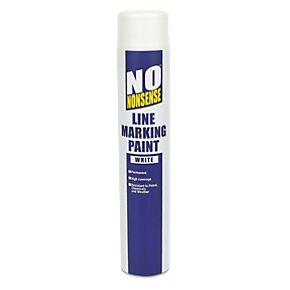 No nonsense line marking paint white 750ml line marking for White line marker paint