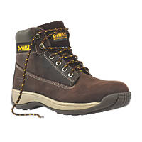 DeWalt Apprentice Safety Boots Brown Size 11
